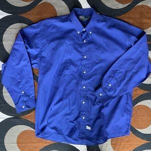 Polo Ralph Lauren long-sleeve shirt, USA made, XL